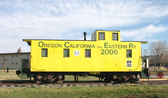 OC&E Caboose Map location
